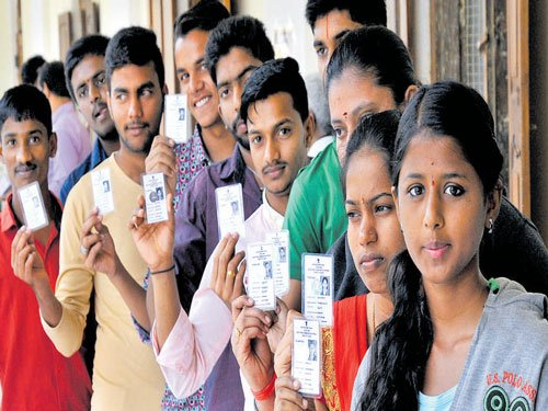 9.9k first-time voters enrolled