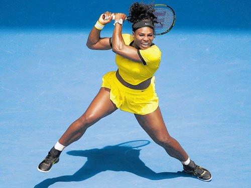 Sizzling Serena eases through