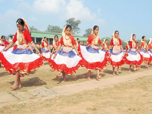 67th Republic Day celebrated in Madikeri