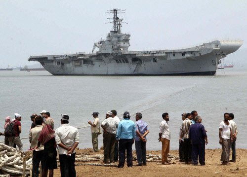 Memorial for INS Vikrant unveiled