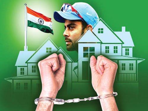 Kohli's Pak fan held for hoisting Indian flag