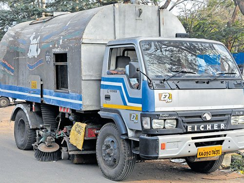 Palike dusts out sweeper vehicles ahead of investors' meet