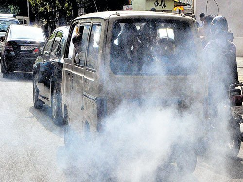 Centre seeks report from KSPCB on pollution in City