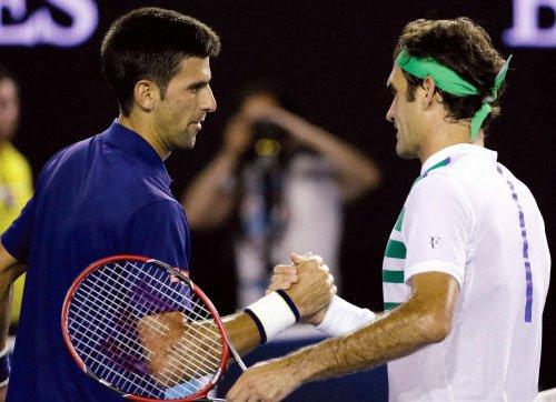 Djokovic shades Federer to sixth Australian Open final