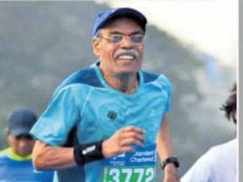 A 75-yr-old man's 'race' against age