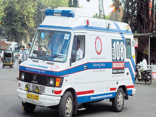 Over half of '108' ambulances stay off roads as stir continues
