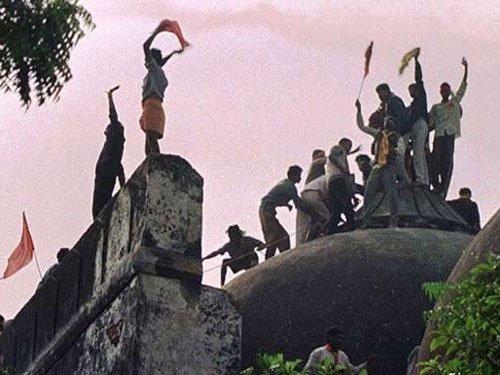 Babri Masjid demolition absolute deceit, says President