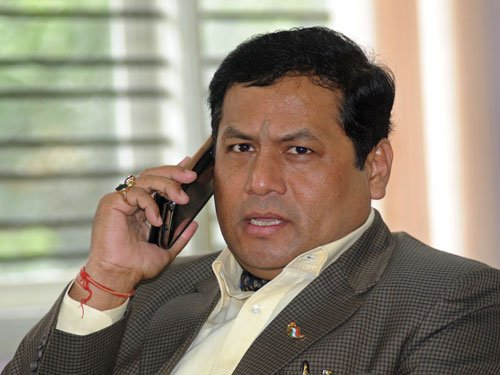 BJP to project Sonowal as Assam CM