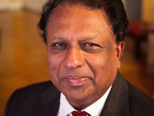 Former diplomat T P Sreenivasan attacked by SFI activists