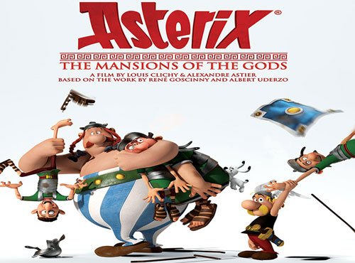 'Asterix: The Mansions of the Gods' - Comic book recreated