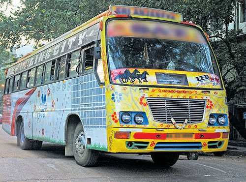 No entry for private buses in City from February 1 to 5