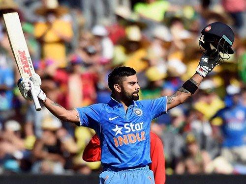 Kohli replaces Finch as No 1 batsman in T20 Internationals