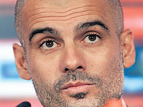 City job is a risk, admits new coach Guardiola
