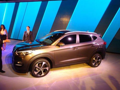 Hyundai unveils SUV Tucson, eyes 2 new models every year