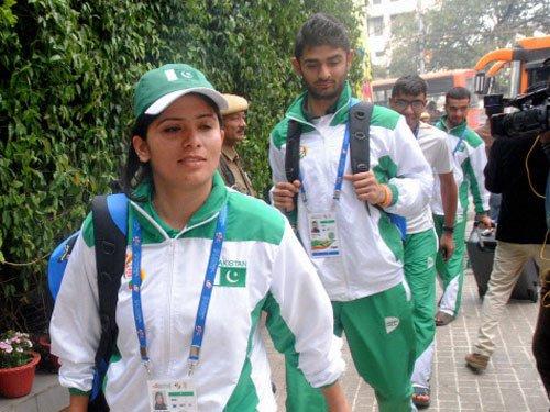 Pakistani athletes feeling at 'home'