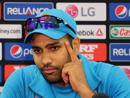 Great if me and Shikhar can match Sachin-Sourav pair: Rohit
