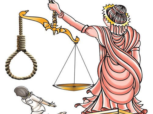 Death sentence to 11 for killing woman