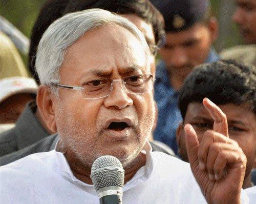 Nitish laments non-inclusion  of Bihar in smart city list