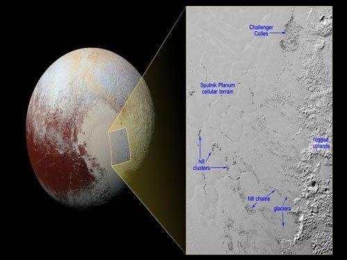 NASA spacecraft spots 'floating' hills on Pluto