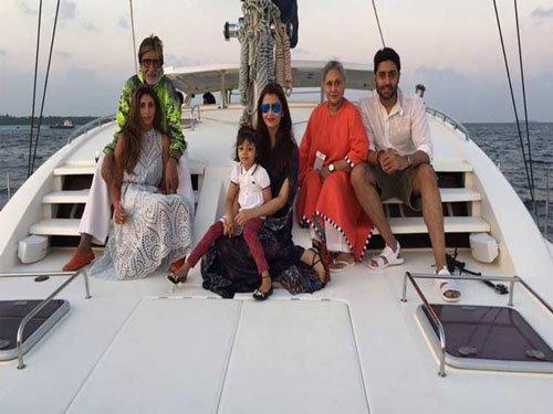 Family cruise for Abhishek Bachchan's 40th birthday