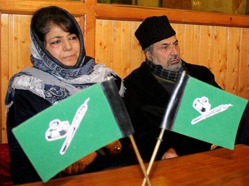 No govt if Centre does not support, indicates Mehbooba