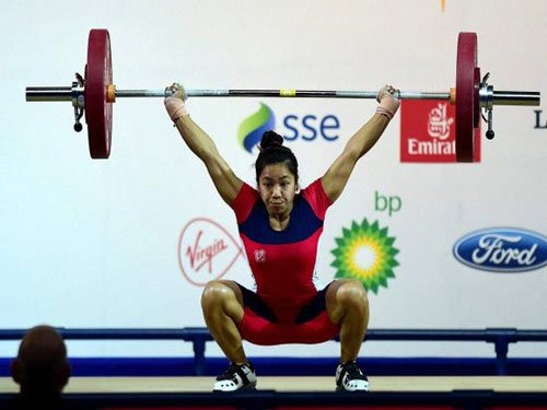 Indians strike three gold in weightlifting
