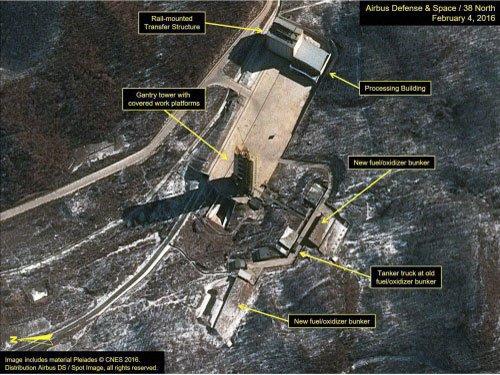 North Korea advances plans to launch rocket