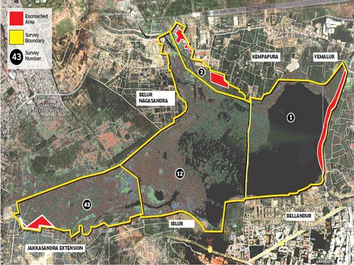 A lake abused by govt agencies
