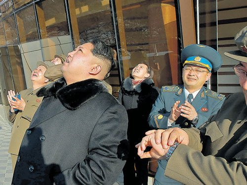 N Korea launches rocket; world upset