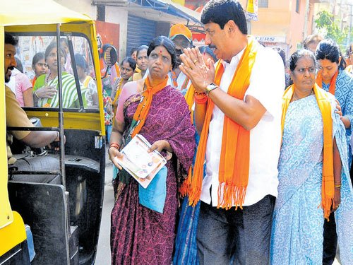 BJP unleashes hectic campaigning in Hebbal