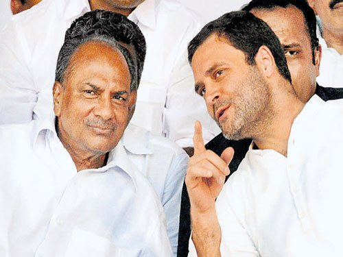 Rahul defends Chandy, says zero tolerance for graft