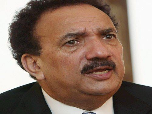 Rehman Malik rubbishes Headley's testimony