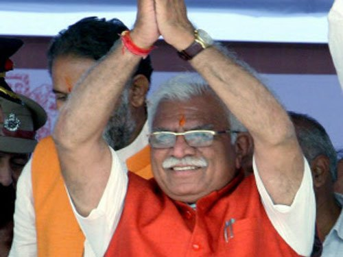 Cong attacks Khattar on beef issue