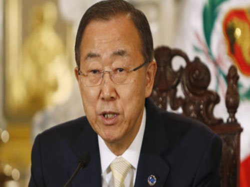 Ban Ki moon warns against ISIS spread in South Asia