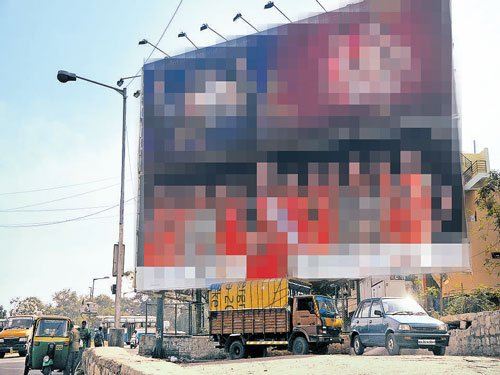Politicians own at least 40 per cent hoardings in City