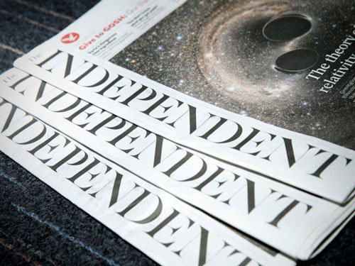 UK daily 'Independent' goes online only