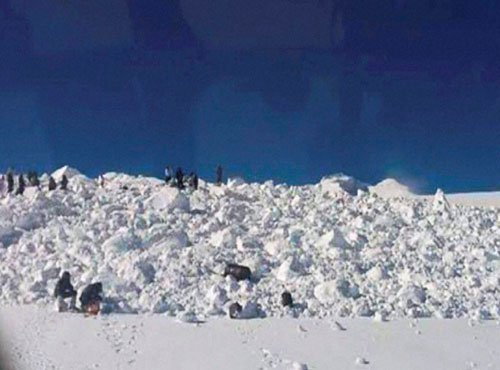 Mortal remains of 9 soldiers flown to Siachen base camp