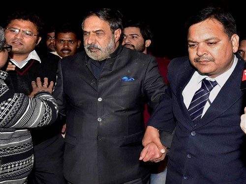 Anand Sharma says he was attacked physically by ABVP activists