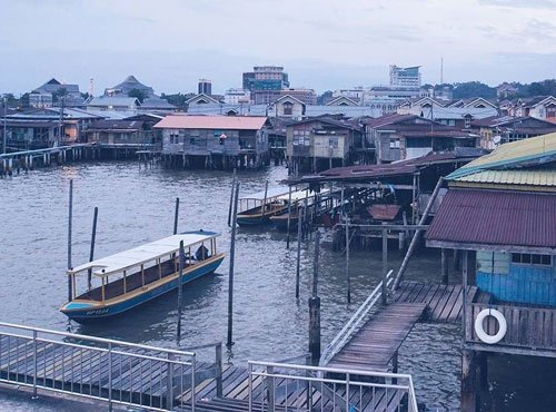 Kampong Ayer, the world's biggest water village in Brunei