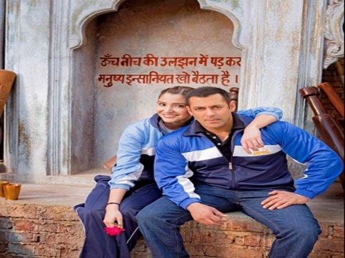 Salman, Anushka celebrate love of equals in 'Sultan' new look