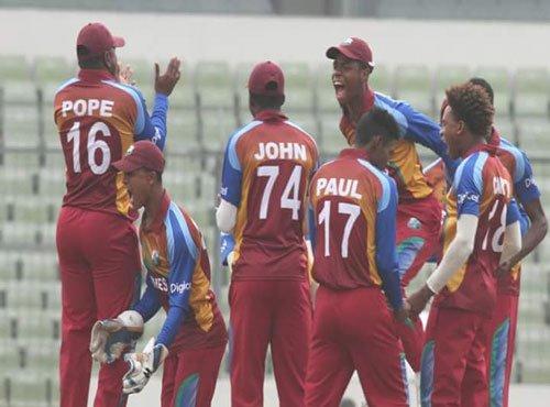 Let down by batsmen, India lose U-19 WC trophy to West Indies