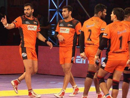 Devadiga leads U Mumba to win over Bengal Warriors