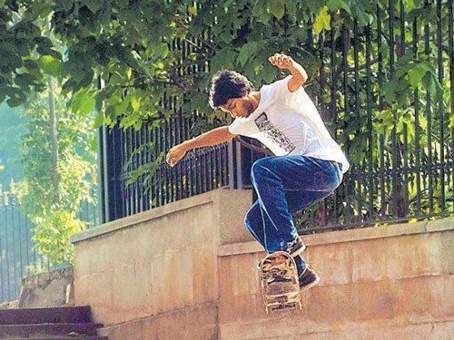 Skates are high!
