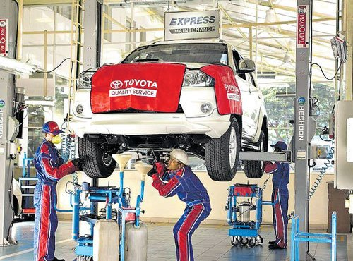 After sales service, keeping cars young