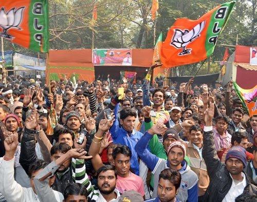 Karnataka bypolls: Setback for Congress as BJP bags two seats