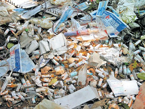 City students suggest ways to manage biomedical waste
