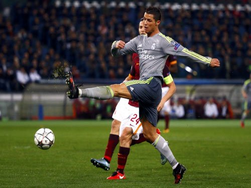 Inspired Ronaldo spurs Madrid