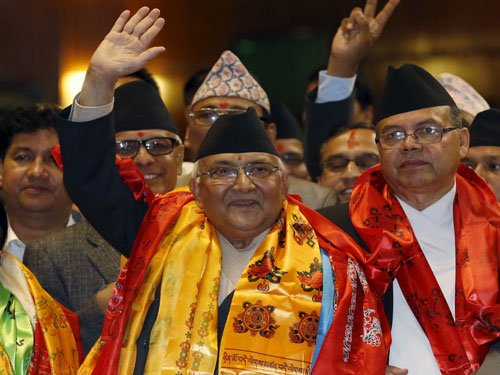 Nepal's PM leading 77-member jumbo delegation to India