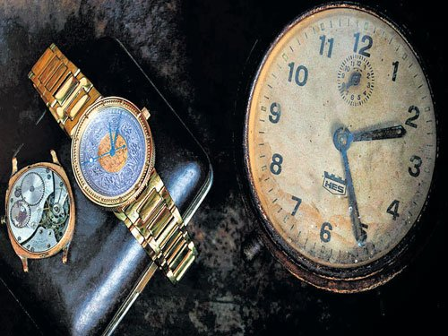 Of old-world horology...