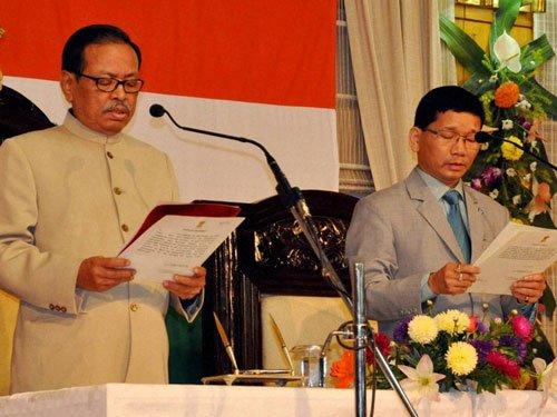 Pul sworn in as Arunachal Chief Minister